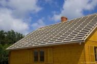 Przygotowana konstrukcja dachu do układania paneli na rąbek stojący. fot. Blachy Pruszyński